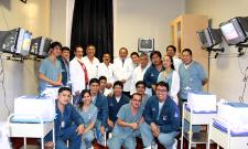Inauguración del Aula de Simulación de Cirugía Endoscópica