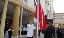 Ceremonia de Izamiento de Bandera por 191º Aniversario del INMP