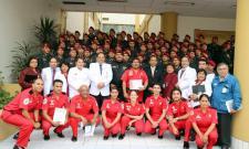 Ceremonia de Clausura de Curso de Capacitación a Policías y Bomberos para Recibir al Recién Nacido de Parto Inminente Extra Institucional